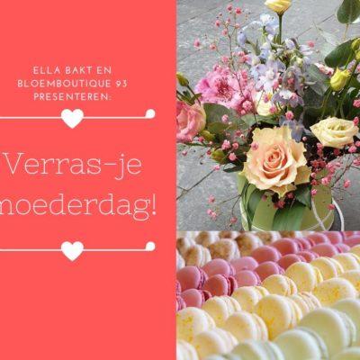 MOEDERDAG! ELLA BAKT VS BLOEMBOUTIQUE 93